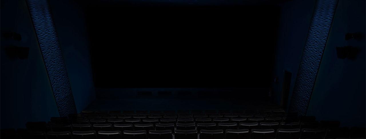CINEGAMING Kinosaal Hintergund