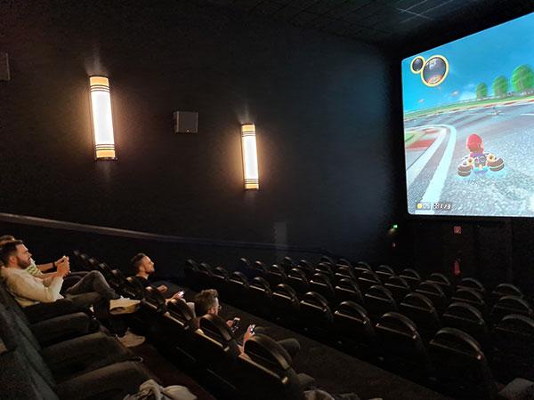 CINEGAMING Zocken im Kino 1