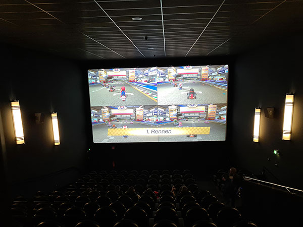 CINEGAMING Zocken im Kino 2